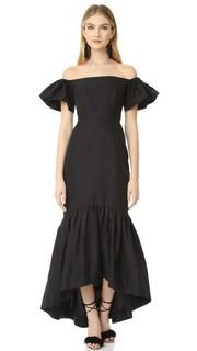 Платье с открытыми плечами и подолом «русалка» Jill Jill Stuart