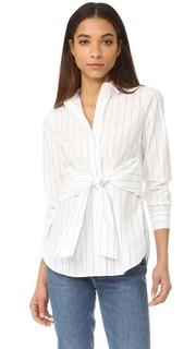 Рубашка с завязкой на талии Madewell