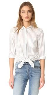 Завязанная спереди рубашка с длинными рукавами Madewell