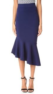 Асимметричная драпированная юбка Milly