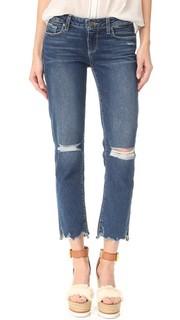 Прямые джинсы Miki с потрепанным низом Paige