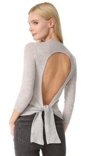 Кашемировый свитер с открытой спиной Autumn Cashmere