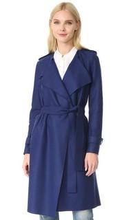 Длинное пальто-тренч Harris Wharf London