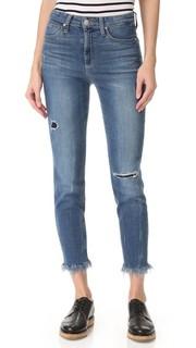 Укороченные джинсы Charlie с высокой посадкой Joes Jeans