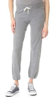 Винтажные спортивные брюки для беременных Monrow
