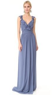 Платье-халат Lacey с оборками Joanna August