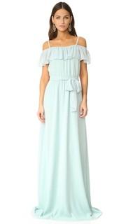 Вечернее платье Nikki с оборками и открытыми плечами Joanna August