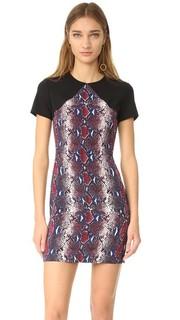 Идеально скроенное платье с принтом Diane von Furstenberg