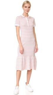 Платье в полоску с короткими рукавами Natasha Zinko