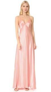 Атласное вечернее платье-комбинация Jill Jill Stuart