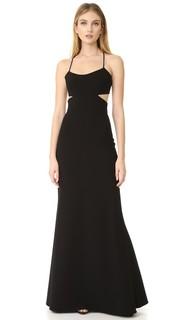 Вечернее платье с вырезами без рукавов Jill Jill Stuart