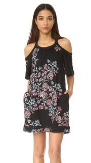 Платье с открытыми плечами Wanderer с цветочным рисунком Ella Moss