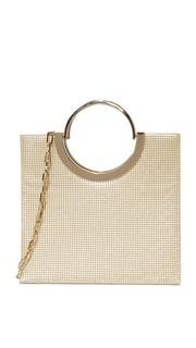 Миниатюрная объемная сумка с короткими ручками Nolita Whiting & Davis