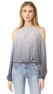 Блуза Lauren с эффектом «омбре» Ramy Brook