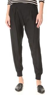 Шелковые брюки без застежки ATM Anthony Thomas Melillo