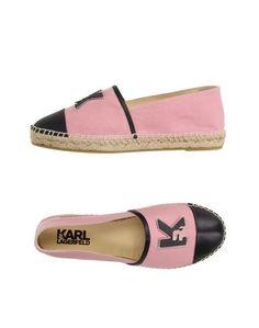 Эспадрильи Karl Lagerfeld
