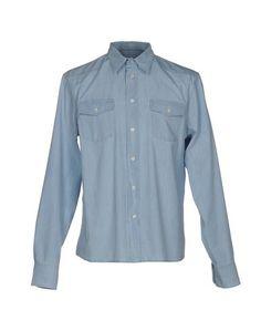 Джинсовая рубашка Prada