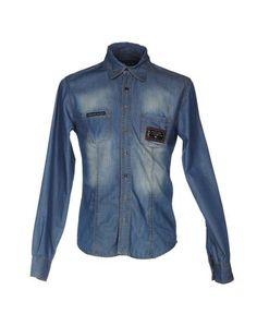 Джинсовая рубашка Philipp Plein Homme