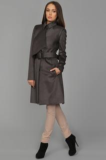 Пальто с поясом Victoria Beckham