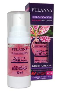 Ночной крем с фитоэстрогенами PULANNA