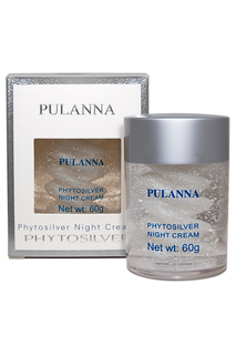 Ночной крем с серебром PULANNA