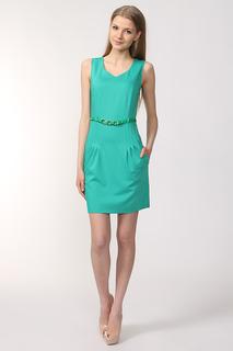 Платье с ремнем VEROM