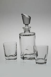 Набор для виски 7 шт. CRYSTAL BOHEMIA