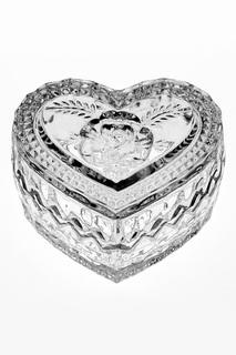 "Доза ""Сердце"", 8,2 см CRYSTAL BOHEMIA"