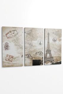 """Панно """"Поездка в Париж"""", 3пр. Pannorama"""