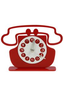 """Часы настольные """"Телефон"""" Русские подарки"""