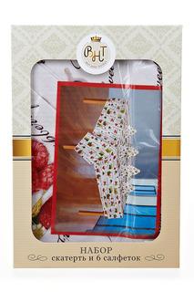 Скатерть и салфетки, 140х140см Best Home Textiles