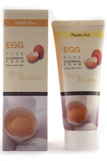 Пенка с яичным экстрактом FARMSTAY