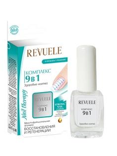 Лаки для укрепления и роста ногтей Revuele