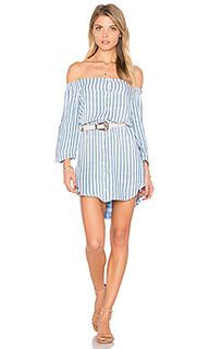 Off shoulder button front dress - Bella Dahl