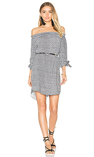 Geo print off shoulder dress - Seafolly