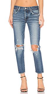 Состаренные облегающие джинсы latrobe - Moussy