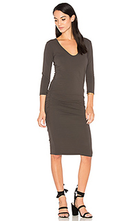 V neck skinny dress - James Perse