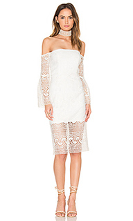 Geo lace dress - Bardot