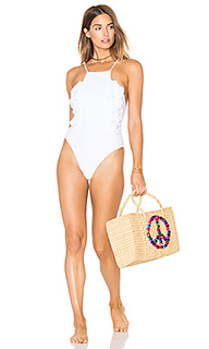 Слитный купальник whip cream - lolli swim