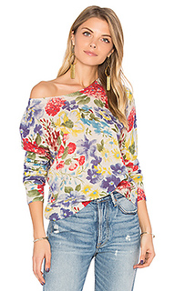 Crop floral sweater - Autumn Cashmere