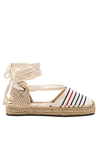 Striped gladiator sandal - Soludos