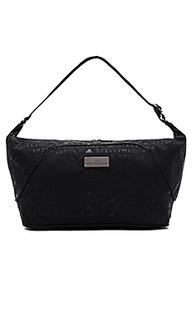 Sports bag s black granite & gunmetal - adidas by Stella McCartney