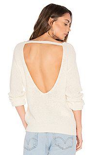 Waffle v back sweater - Callahan