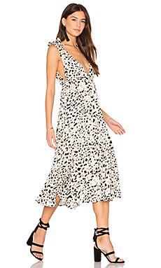 Sumatra tie shoulder midi dress - MINKPINK