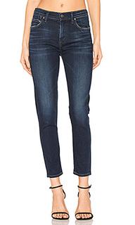 Укороченные облегающие джинсы с высокой посадкой rocket - Citizens of Humanity