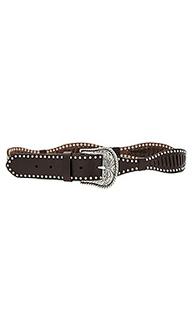 Western laced belt - Linea Pelle