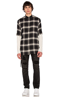 Drawcord s/s shirt - Helmut Lang