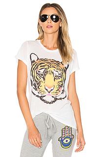 Футболка edda wild tiger - Lauren Moshi
