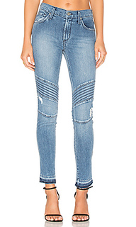 Distressed ankle moto - James Jeans