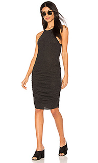 Ruched halter dress - Lanston